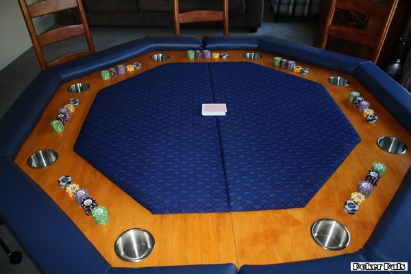 Octagonal Folding Poker Table